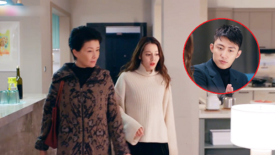 'Hạnh phúc trong tầm tay' tập 25: Đường đường là tổng tài của Vạn Phong mà Hoàng Cảnh Du phải hành động lén lút như chuột để…trốn mẹ vợ tương lai
