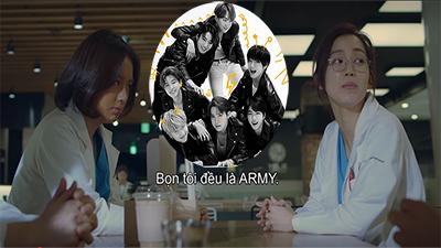 ARMY 'mở mày mở mặt' vì BTS xuất hiện trong 'Hospital Playlist' theo cách không thể tuyệt vời hơn