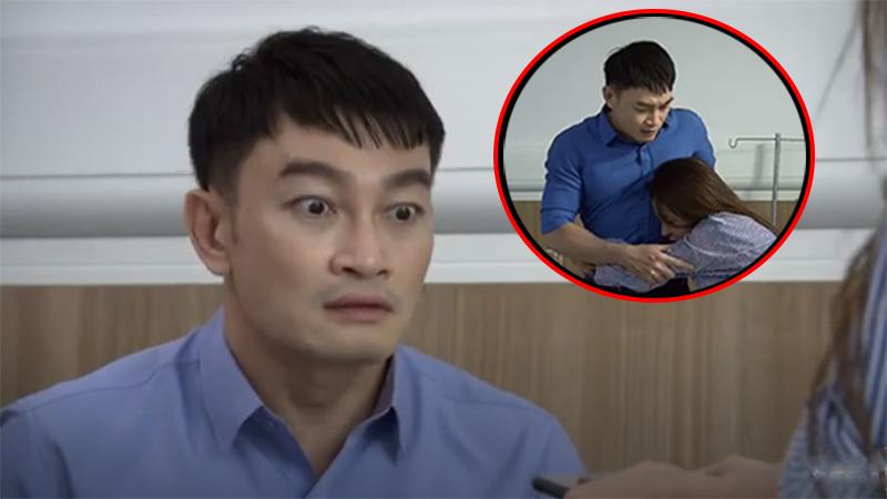 'Lửa ấm' tập 8: Minh bị vợ 'bán' cho bệnh nhân, sợ đến nỗi 'chạy mất dép'