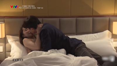 Về nhà đi con (tập 66): Sau lời tỏ tình 'Anh thích em', Vũ lên giường với Nhã