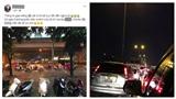 Mạng xã hội ngập tràn trạng thái 'kêu gào' vì tắc đường, ngập lụt