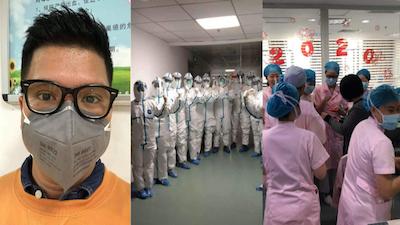 Bác sĩ người Việt chia sẻ những hình ảnh hiếm hoi tại bệnh viện Trung Quốc giữa tâm bão virus Corona