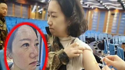 Cộng đồng mạng Trung Quốc lan truyền hình ảnh nữ y tá tại Vũ Hán cùng câu chuyện 'rớt nước mắt' đêm giao thừa