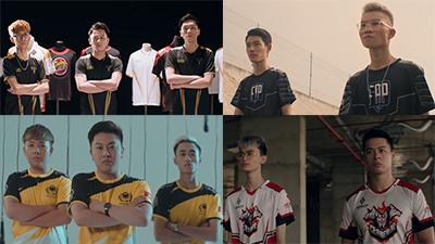 Gần 60 game thủ xuất hiện cực ngầu trong MV âm nhạc quảng bá giải đấu Liên Quân Mobile