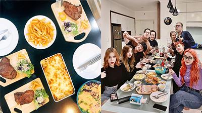 Rapper nhóm nhạc Lộn Xộn khoe tài bếp núc chuẩn nhà hàng 5 sao, fan girl liên tục đòi 'order' một anh chồng đảm đang như thế
