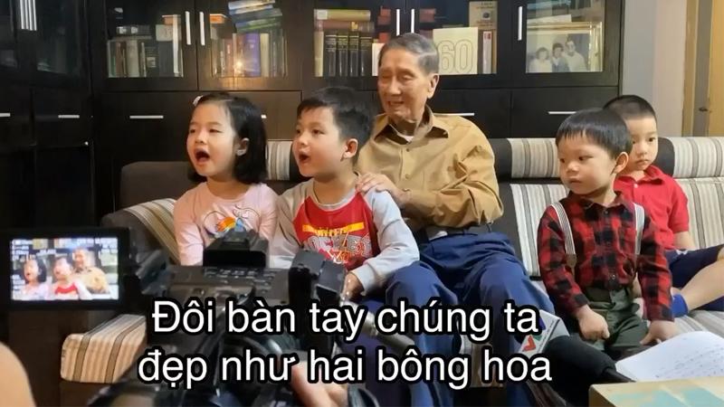 'Khúc hát đôi bàn tay' - bài hát lan tỏa thông điệp phòng dịch dành cho thiếu nhi được hội phụ huynh lan truyền khắp mạng xã hội