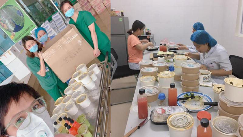 Người phụ nữ tự nấu 120 suất cơm mang đến tặng các bác sĩ BV Nhiệt đới TW: Đây là lúc tôi trả ơn đời!