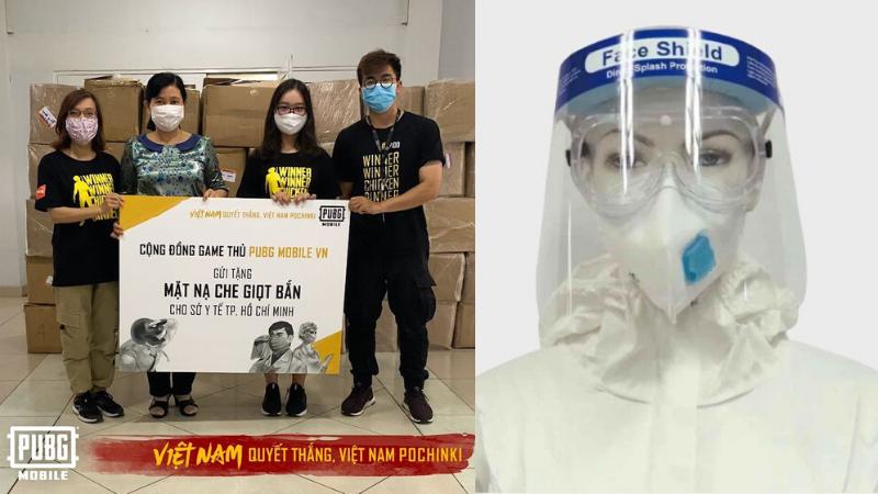 Cộng đồng PUBG Mobile Việt Nam tặng 10.000 mặt nạ chống giọt bắn, trị giá hơn 650 triệu đồng cho đội ngũ y tế