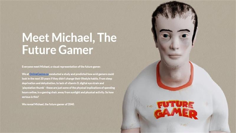 Hình ảnh đáng sợ của người nghiện game sau 20 năm