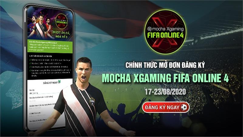 Giải đấu Esports Mocha Xgaming bộ môn FIFA Online 4 chính thức khởi tranh, giải thưởng lên tới 70 triệu đồng