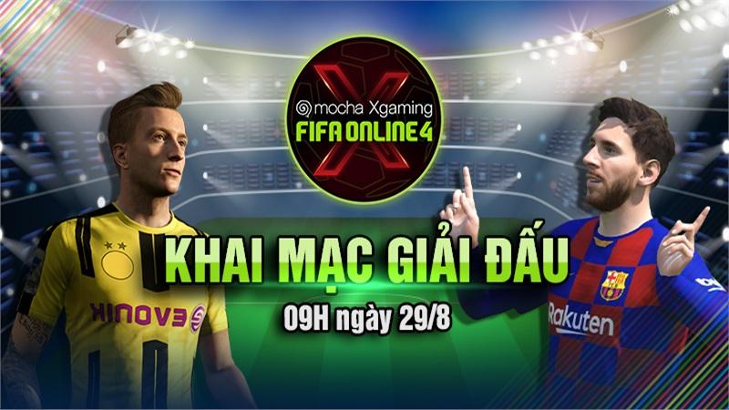 Chính thức khai mạc giải đấu Mocha Xgaming: FIFA Online 4
