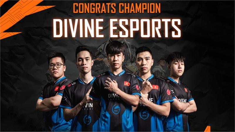 Lần thứ 4 xưng vương ở giải đấu quốc tế, Divine Esports khẳng định: 'Đây là dịp đánh dấu sự trở lại của một cái tên'