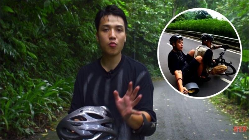 Quyết tâm chinh phục nút kim cương Youtube, NTN lái xe mạo hiểm thả dốc từ đỉnh núi có nhiều khúc cua 'tử thần'