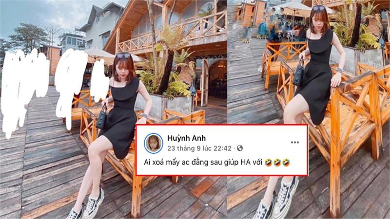 Nhờ dân mạng chỉnh sửa ảnh, bạn gái Quang Hải bị 'troll' đến phát hoảng