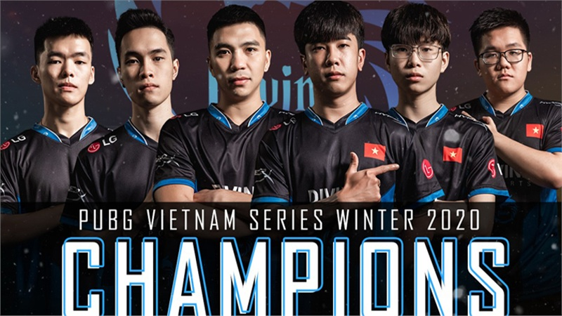 Divine Esports lên ngôi vô địch PVS Winter 2020, chấm dứt triều đại thống trị của Cerberus