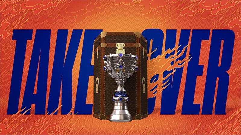 Cận cảnh chiếc cúp dành cho nhà vô địch CKTG Liên Minh Huyền Thoại 2020: nặng 16kg, đặt trong rương của Louis Vuitton