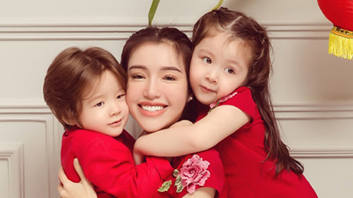 Elly Trần tiết lộ đưa hai con về quê sống với ông bà ngoại để tránh dịch Covid-19