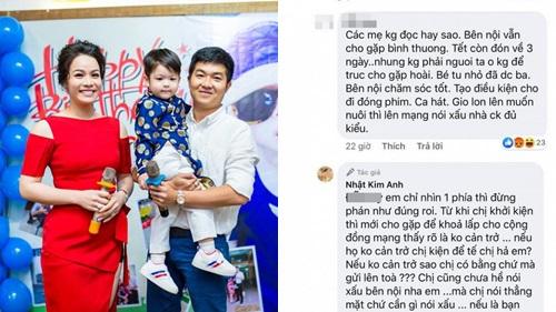 Phản ứng của Nhật Kim Anh khi bị netizen cho rằng đang làm quá chuyện ly hôn