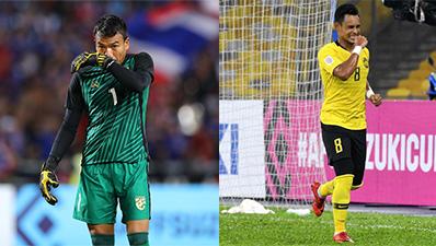Đội trưởng Malaysia: 'Chiến thắng này dành tặng cho thủ môn Thái Lan'