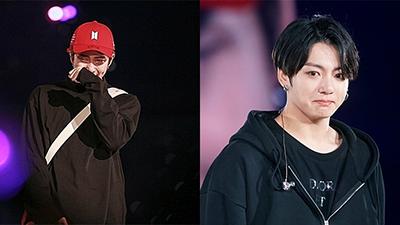 RM khóc nức nở, Jungkook đỏ hoe mắt trong concert cuối cùng tour diễn 'Love Yourself: Speak Yourself'