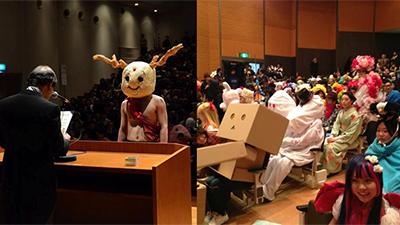 Nhận bằng tốt nghiệp như sinh viên Nhật Bản: Phải mặc bằng được đồ cosplay siêu dị mới chịu