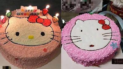 Cô gái hí hửng đặt bánh sinh nhật thật đẹp, lúc nhận thành quả chỉ biết kêu lên: Truyền thái y...