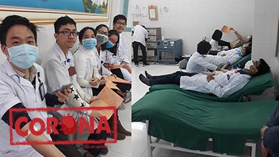 Giữa dịch nCoV, SV Y Hà Nội cùng nhau hiến máu ngay giờ học lâm sàng tại bệnh viện