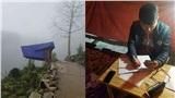 Cảm động cậu sinh viên người Mông dựng lán giữa núi rừng để bắt sóng 4G học online