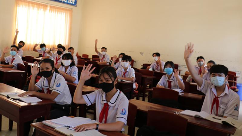 Hai tỉnh thành đầu tiên trên cả nước bắt đầu trở lại trường vào sáng 20/4