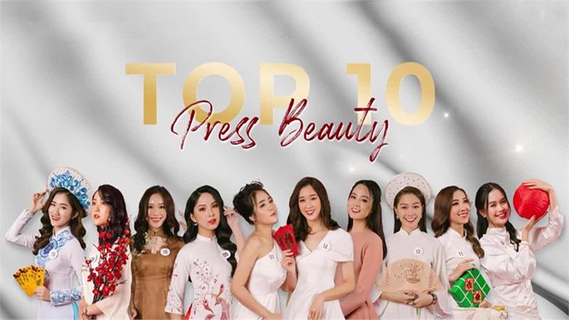 Top 10 nữ sinh tài sắc vẹn toàn đang tranh tài 'Press Beauty - Tài sắc nữ sinh Báo chí 2020'