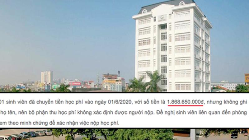 Sau thông báo sinh viên chuyển nhầm... 2 tỷ học phí, ĐH Quốc gia Hà Nội vội đính chính: Do lỗi đánh máy