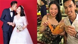 Chuyện tình cặp đôi 'vào nhầm WC nam được chồng như ý': Sau 1 năm yêu vỗ béo bạn gái tăng 10kg