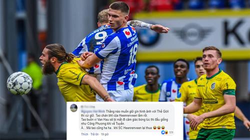 Fan Việt vào tận fanpage SC Heerenveen 'cà khịa' khi đội thua và không cho Văn Hậu đá chính