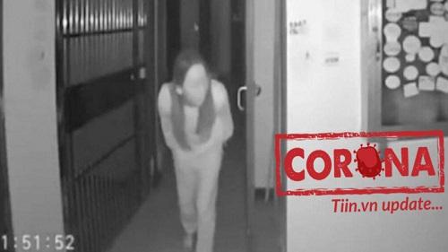 Cô gái nghi nhiễm Corona nhổ nước bọt vào tay nắm cửa chung cư giữa đại dịch gây phẫn nộ