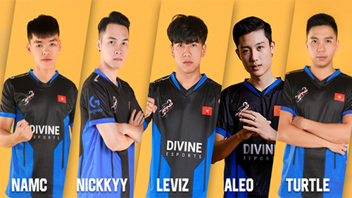 Vuột mất ngôi vương PUBG Việt Nam 2020, Divine Esports trần tình: Do lối bắn của team không hợp với giải đấu quốc nội