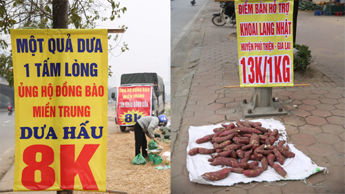 'Di dỉ dì di' cái gì cũng... giải cứu, Hà Nội tràn lan những điểm bán hỗ trợ, chất lượng thực thực hư hư