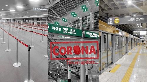 Sân bay Hàn Quốc vắng tanh sau thông tin số ca nhiễm Covid-19 tăng nhanh, khách du lịch bỗng 'hoang mang nhẹ'
