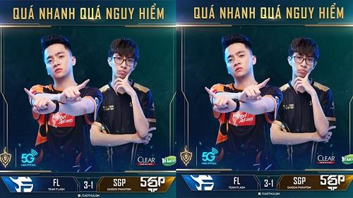 Team Flash đại thắng Saigon Phantom ngày khai mạc: Bản lĩnh đương kim vô địch lên tiếng