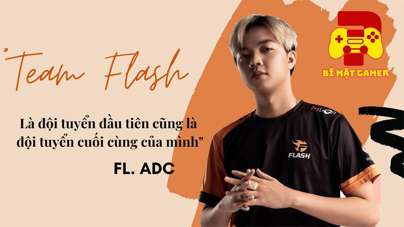 FL.ADC khẳng định vào Team Flash thì phải biết 'gáy', tự nhận mình hiền lành ít nói và trẻ con