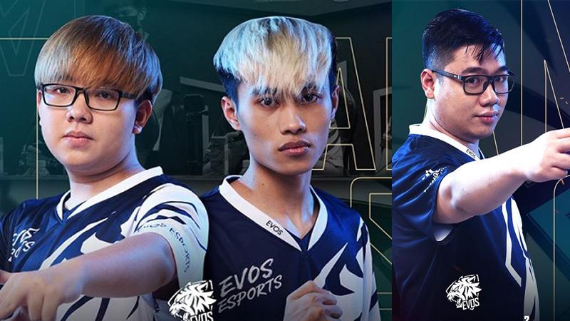EVOS Esports công bố những 'siêu tân binh', hứa hẹn 'làm lại từ đầu' ở lượt về Đấu Trường Danh Vọng mùa Xuân