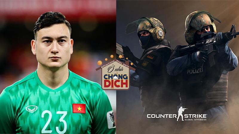 Hưởng ứng phong trào ở nhà chống Covid-19, Đặng Văn Lâm 'lên đồ' chơi game không kém gì gamer chuyên nghiệp