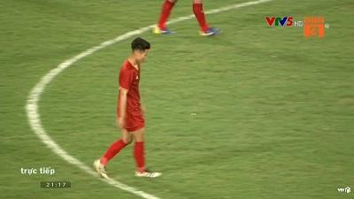 Clip: Triệu Việt Hưng lên tiếng, nâng tỉ số 4-0 cho U23 Việt Nam trước U23 Brunei