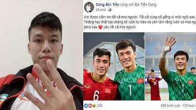 Sau đại chiến với Thái Lan, các cầu thủ nói gì?
