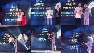 VBA Awards 2019: MVP of the year gọi tên Đinh Thanh Tâm, Local of the year thuộc về Dư Minh An
