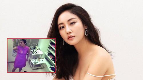Văn Mai Hương làm việc với công an sau khi bị lộ clip nhạy cảm tại nhà riêng