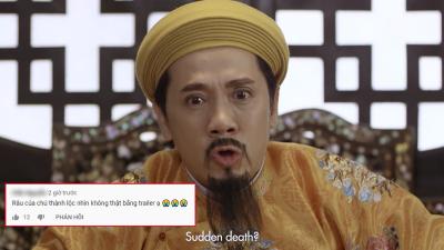 'Phượng Khấu' tung trailer nhưng bộ râu 'trông có phần sai sai' của NSƯT Thành Lộc lại chiếm hết spotlight nơi sóng gió hoàng cung