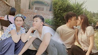 Trước giờ G lên sóng tập cuối Cô gái nhà người ta, 'Mận' Hương Giang đăng loạt ảnh hậu trường ngọt lịm tim cùng 'Viễn' Quang Trọng