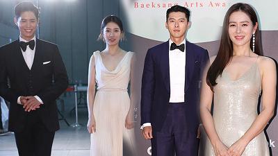Park Bo Gum 3 năm liên tiếp 'tránh né' Suzy, Hyun Bin - Son Ye Jin tránh chạm mặt trên thảm đỏ Baeksang 2020