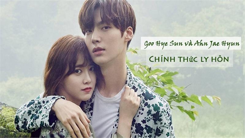 Ahn Jae Hyun và Goo Hye Sun chính thức ly hôn