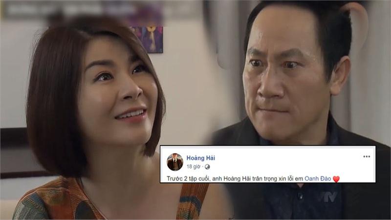 'Đừng bắt em phải quên': Sau màn 'bóp cổ' mắng chửi 'đê tiện', NSƯT Hoàng Hải gửi lời xin lỗi NSƯT Kim Oanh